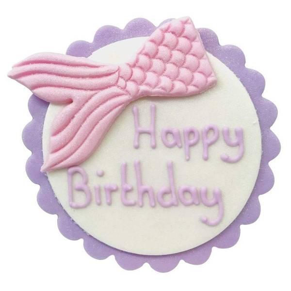 Bilde av Happy Birthday  Havfrue
