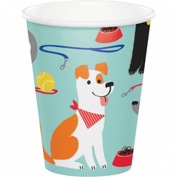 Bilde av Hundefest, Kopper, 8 stk