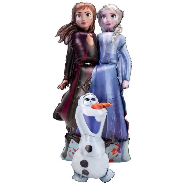 Bilde av  Frost 2, Elsa, Anna og Olaf Airwalkerballong, 147cm!