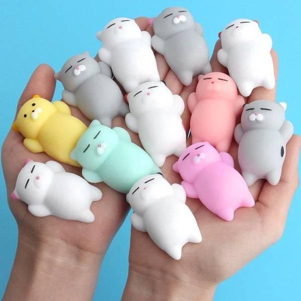 Bilde av Mochi squishy animals, Fidget Toy, pr stk