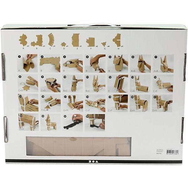 Bilde av DIY Kit Pinata - Esel Pastell