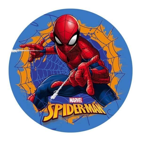 Bilde av Spiderman, Kakebilde 1, Sukkerpasta, 20 cm
