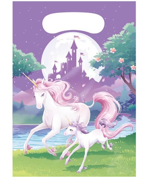 Bilde av Unicorn Fantasy, Godteposer 8 stk