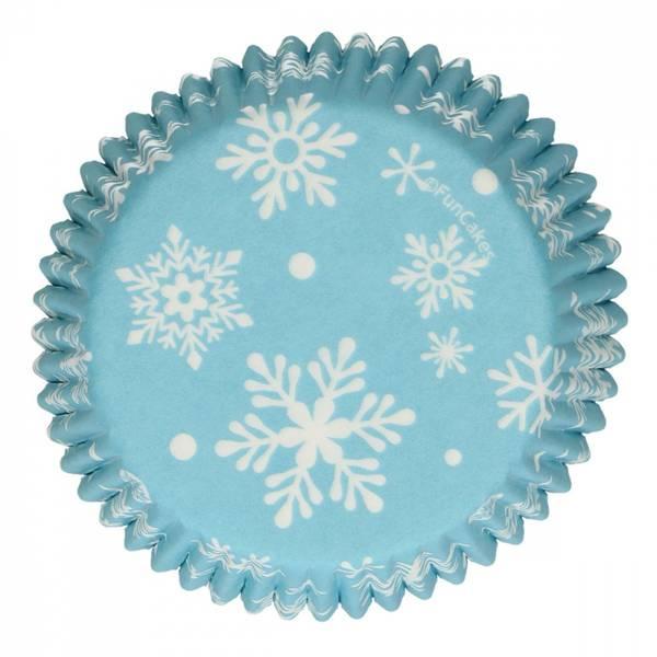 Bilde av Frost Snøkrystall, Muffinsformer, 48 stk