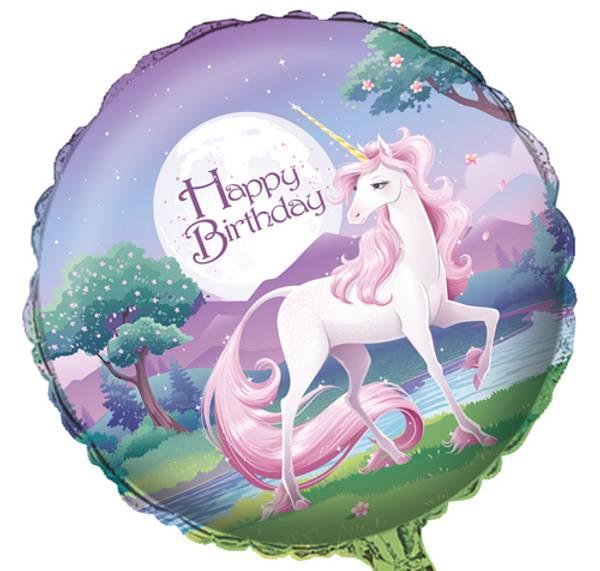 Bilde av Unicorn Fantasy, Folieballong