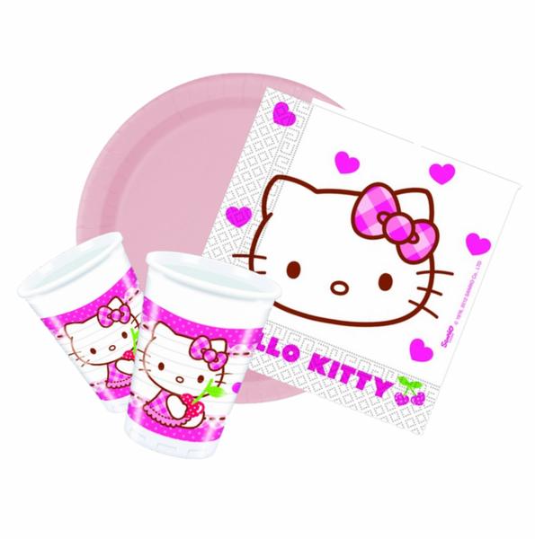 Bilde av Hello Kitty, Basis Bursdagspakke 8 personer