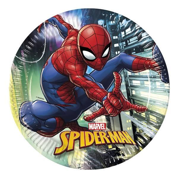 Bilde av Spiderman Team Up, Tallerkener 8 stk