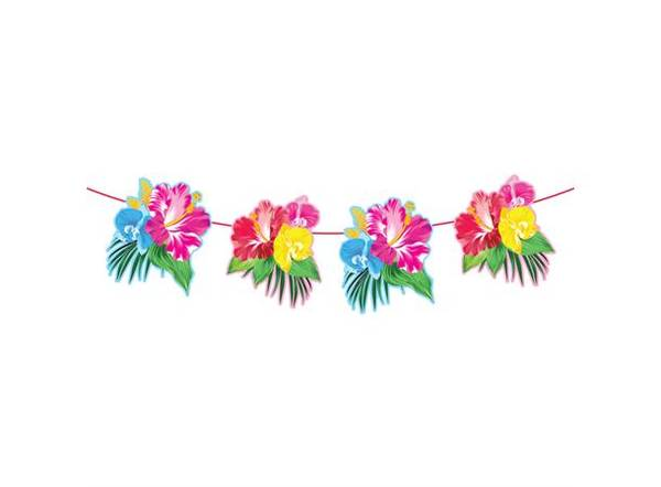 Bilde av Tropisk Blomsterbanner , 6m