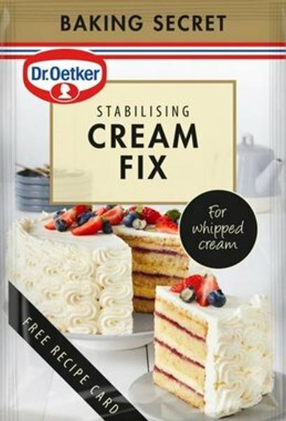 Bilde av Dr. Oetker Cream Fix- Gjør kremen mer stabil!