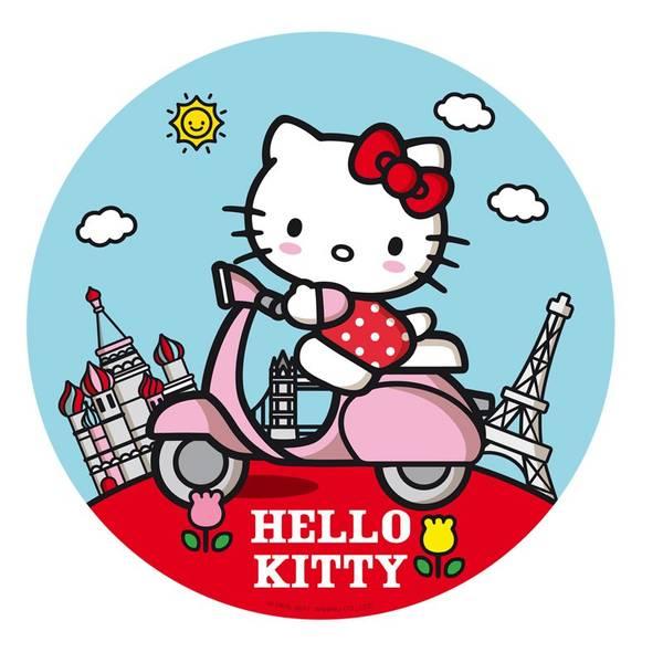 Bilde av Hello Kitty Kakebilde, 20 cm