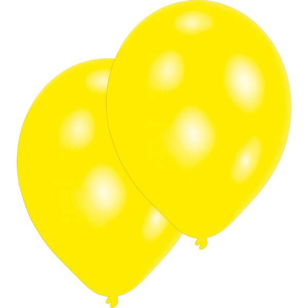 Bilde av Ballonger, Yellow 10 stk