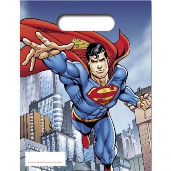 Bilde av Superman godteposer, 6 stk