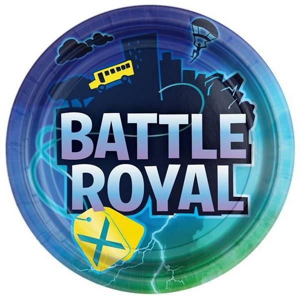 Bilde av Battle Royal, Tallerkener 8 stk