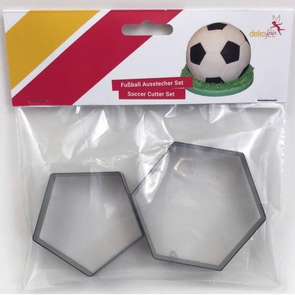 Bilde av Fotball, Dekofee utstikkere, 2 størrelser