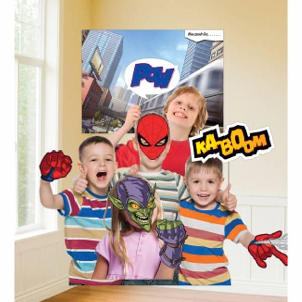 Bilde av Spiderman Fotorekvisitter, 12 deler