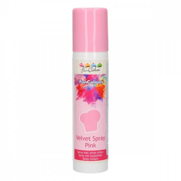 Bilde av FunCakes Funcolours Velvet Spray, Rosa, 100 ml