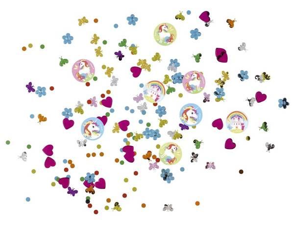Bilde av Fargerik Enhjørning konfetti