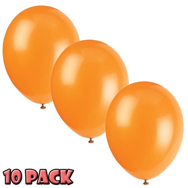 Bilde av Citrus Orange, Ballonger 10stk