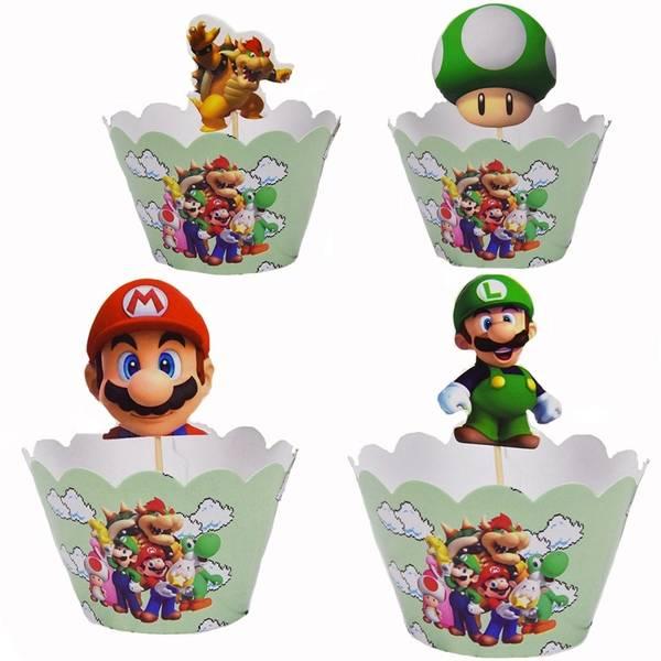 Bilde av Super Mario, Wrappers, 12 stk.