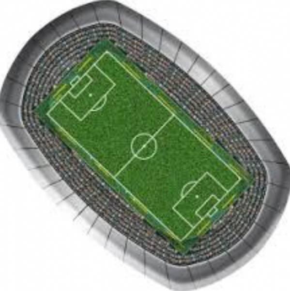 Bilde av Fotballbane Tallerker, 8 stk