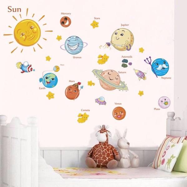 Bilde av Baby solsystem, wallstickers