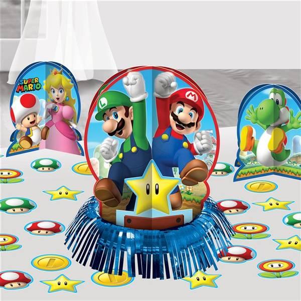 Bilde av Super Mario Borddekorasjon