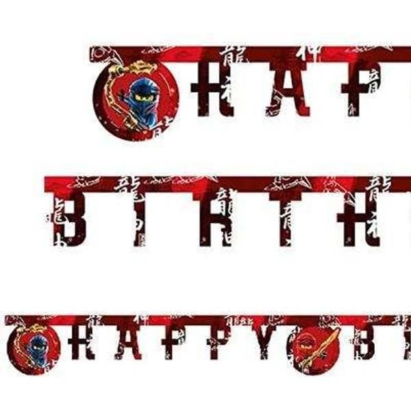 Bilde av LEGO Ninjago happy birthday banner