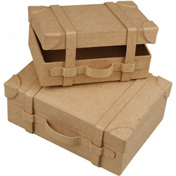 Bilde av Dekorer din egen Minikoffert, 2 stk- Maling følger med!