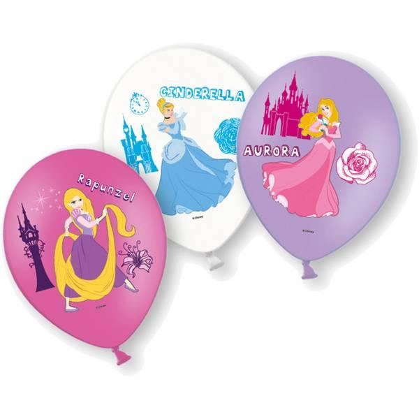 Bilde av Disney Prinsesser, Ballonger, 6 stk