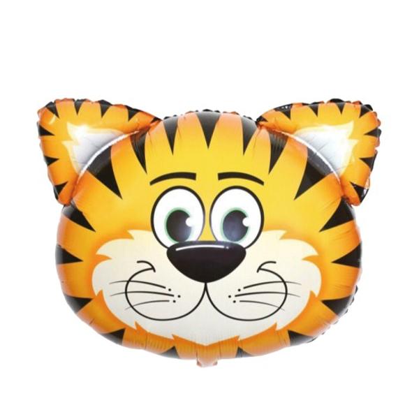 Bilde av Stor Tiger Folieballong, 71x76cm
