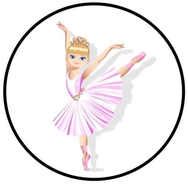 Bilde av Ballerina, Kakebilde, 20 cm