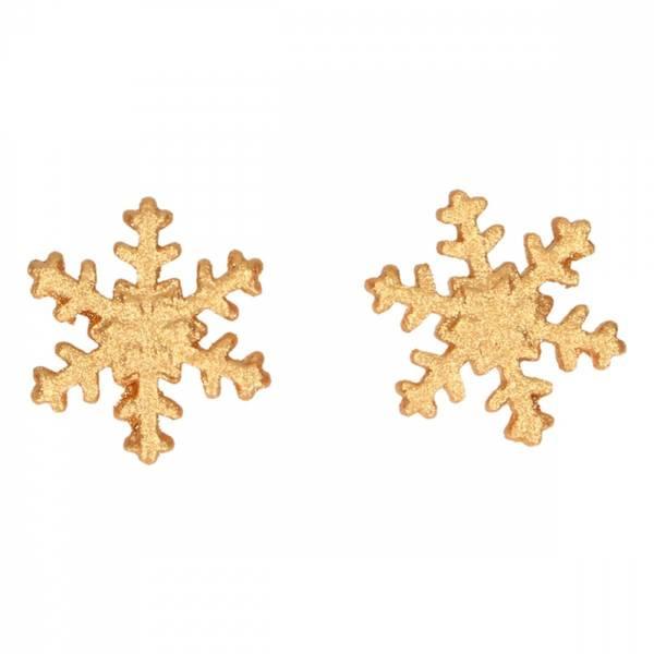 Bilde av Snøflak Sukkerpasta Dekorasjoner Gull