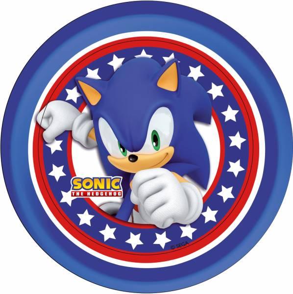Bilde av Sonic Kakebilde 3,Sukkerpapir, 20cm