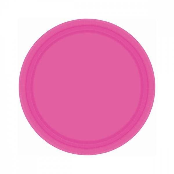 Bilde av Mørke rosa tallerkner