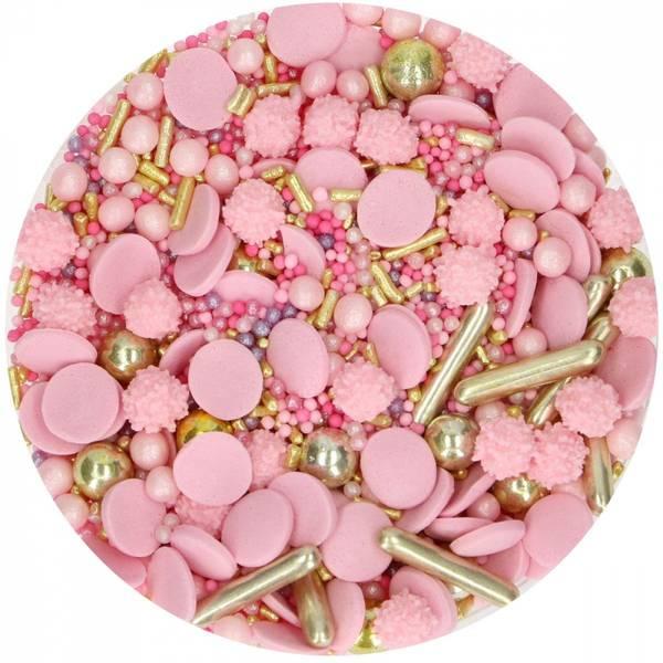Bilde av Kakestrøssel, Medley, Glamour Pink 65 g