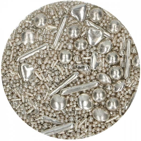 Bilde av Kakestrøssel, Medley, Sølv, 65 g