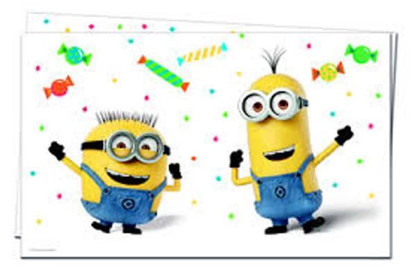 Bilde av Minions Balloon Party Duk