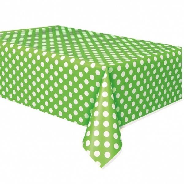 Bilde av Grønn prikkete duk