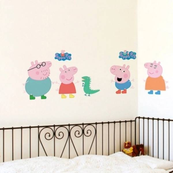 Bilde av Peppa Gris wallstickers