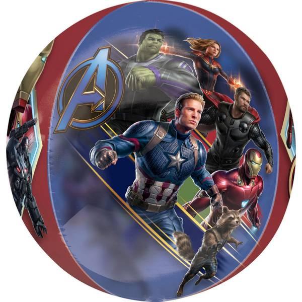 Bilde av Avengers,Rund Folieballong, Endgame, 38 cm