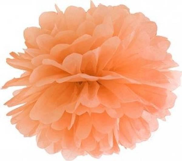 Bilde av Puff Decor, 25 cm, Oransje