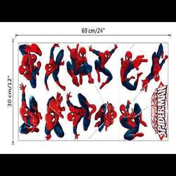 Bilde av Spiderman, Wallsticers