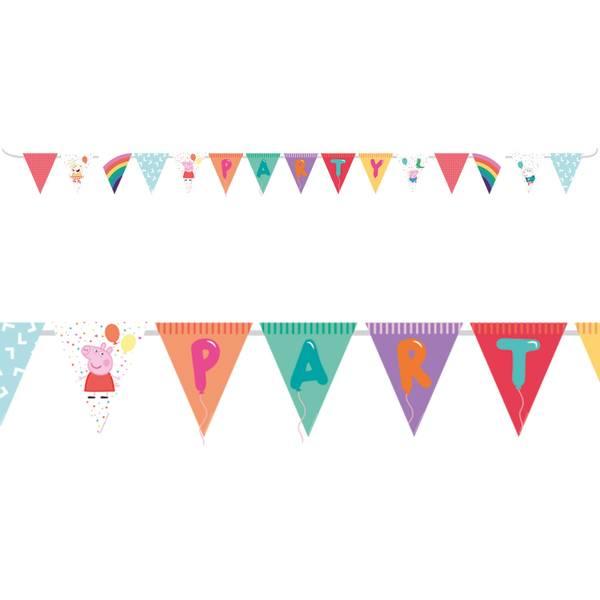 Bilde av Peppa Gris Ballong Party Banner