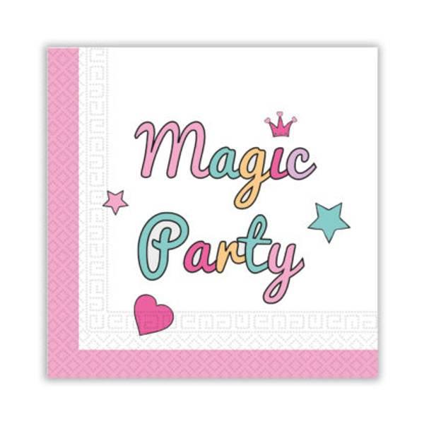 Bilde av Enhjørning, Magical Party, Servietter, 20 stk