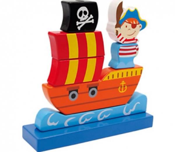 Bilde av Piratskip byggesett