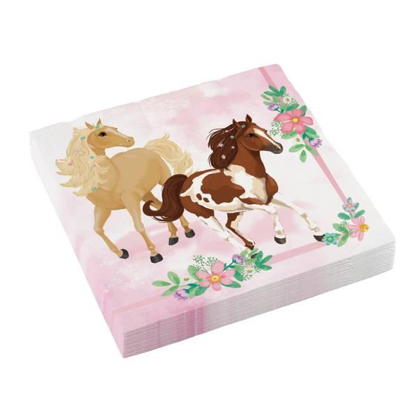 Bilde av Beautiful Horses servietter, 20 stk