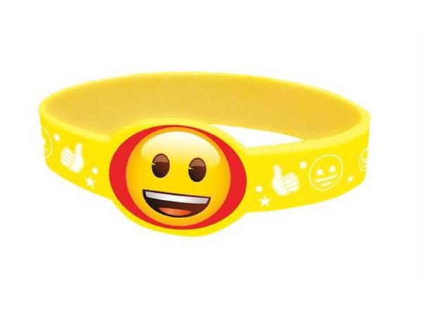 Bilde av Emoji Armbånd, 4 stk
