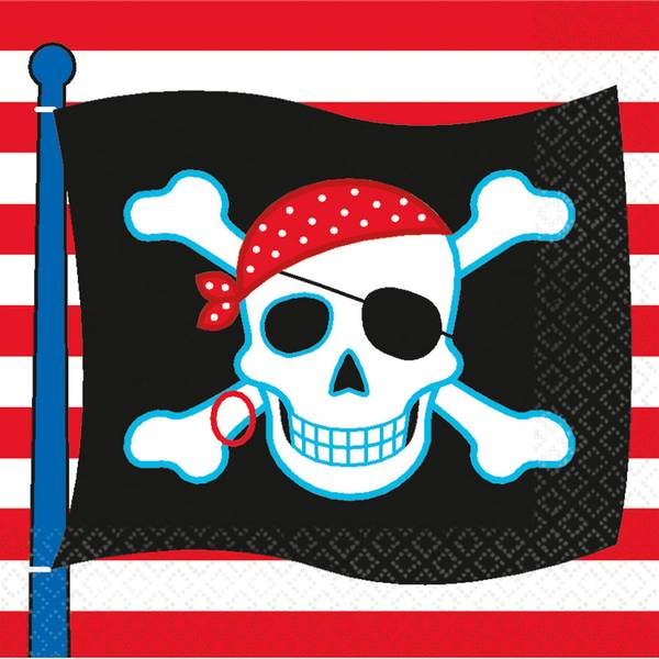Bilde av Pirat servietter