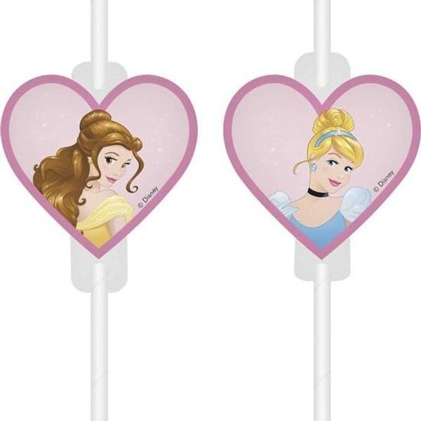 Bilde av Disney Prinsesse Papirsugerør