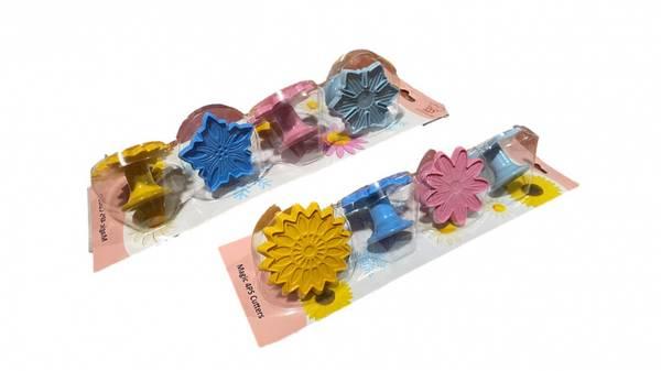 Bilde av Snøkrystaller og blomster utstikkingssett, 4 Deler
